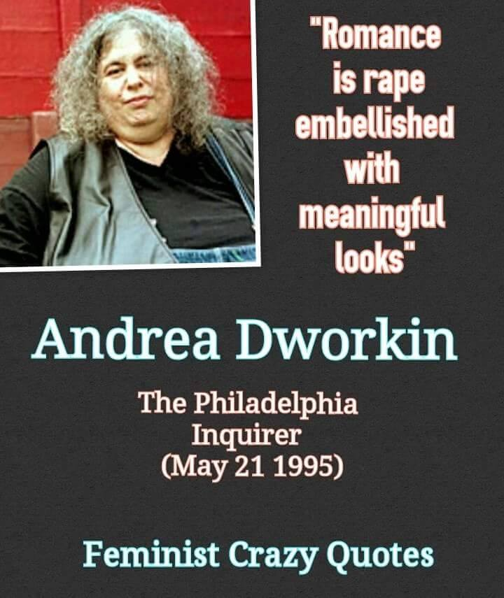 an essay on andrea dworkin An essay on andrea dworkin 1,390 words 3 pages andrea dworkin: censorship and pornography 1,405 words 3 pages an introduction to the life and literature by.